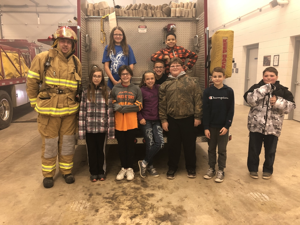 Thank you Goodman Volunteer Fire Dept.!