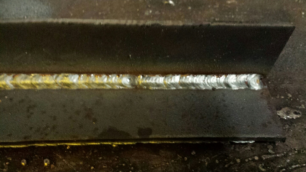 Beautiful weld